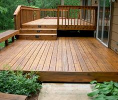 77 Cool Backyard Deck Design Ideas #deckdesigner