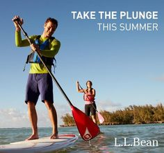 Have you tried Stand-Up Paddleboarding yet?  It's easy and fun :)