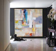 Para ver detalles de la pintura, por favor haz clic en ZOOM para ampliar las imágenes.  Comentarios: www.etsy.com/shop/CelineZiangArt/reviews?ref=shop_info  Bienvenido a mi tienda: www.etsy.com/shop/CelineZiangArt www.etsy.com/shop/CelinePrintables  ►Since que esta pieza puede ser colgada en muchas posiciones, pondrá la firma en la parte posterior del lienzo POR DEFAULT, por lo que se puede colgar en cualquier posición que desee. Si quieres firmar en la parte frontal de la pintura, por favor…