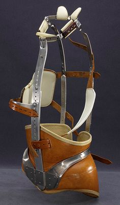The Milwaukee Brace-had to wear one of these when I was a teenager in the mid 70's