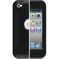 OtterBox Defender Series Case for iPod touch 4th Gen (Black Plastic/Black Silicone) ($24.35) Provides 3 layers of protection  Features clear protective membrane on touch screen  Includes high-quality polycarbonate shell for added protection against drops & durable silicone skin  Provides access to all keys, ports & functions  Three layers of protection  Complete interaction of the devices functions  Built-in screen protector