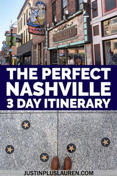 This is the perfect 3 days in Nashville travel guide that you'll want to steal for yourself! Here's an awesome Nashville itinerary that I planned from my trip to Music City. It's a great way to spend a long weekend in Nashville, Tennessee with lots of attractions, where to eat, and where to stay. Things to do in Nashville | What to do in Nashville | Nashville travel blog | Nashville travel itinerary | Nashville attractions | Downtown Nashville | Nashville in the Fall | Nashville Things to Do