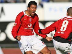 【2006シーズン開幕戦プレイバック G大阪vs浦和】前半開始早々の2分にいきなり先制したワシントン(浦和)(1/9)