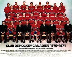 Monteal Canadiens 1970-1971 Montreal Canadiens, Mtl Canadiens, Hockey Pictures, Team Pictures, Team Photos, Hockey Teams, Hockey Players, Ice Hockey, Marble Floor