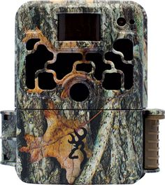 The Browning 2016 Dark Ops Elite HD camera features an invisible Infrared flash to ensure game or trespassers on your property do not detect the camera while it is capturing images or videos. The Sub Micro case size packs all the performance you would expect with 10MP picture quality, 1280 x 720 HD videos with sound, lightning fast 0.4 second trigger speeds, and superior battery life. #browningcameras #gamecamera #hunting #trailcampics #browning