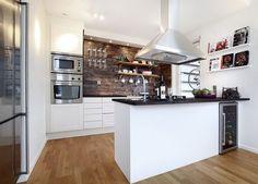 Casa de Valentina -Cozinha integrada