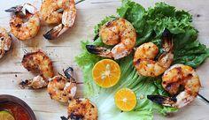 Coggles Food - Lemongrass and Sriracha Grilled Shrimp