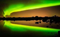 auroras boreales - Proporcionado por Eltiempo.es