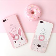 Japanese Cute Fashion Iphone6&7 Case on Girly Girl の To Alice.Pink Cute Cartoon Bunny Bear Iphone6&7 Case Japan Kawaii Gg646 Use strong metallic, feel comfortable, perfect metallic luster. Shaped into an organic whole to achieve both top piece, has perfect appearance, and has strong ability to protect