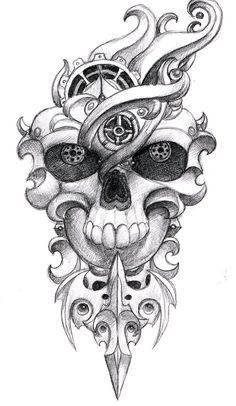 skull_tattoo_design_1_by_pseudodog-d3y9p3d.jpg (900×1550)