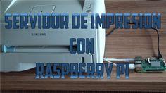 Servidor de impresión con Raspberry Pi