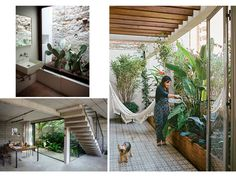 Decoración de terrazas interiores