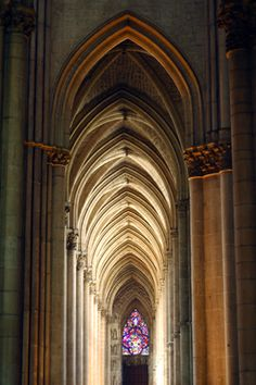 Gothic Style Architecture - Reims Cathedral