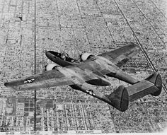 Northrop XP-61E 42-39549 - Ray Wagner was Archivist at the San Diego Air and Space Museum for several years and is an author of several books on aviation