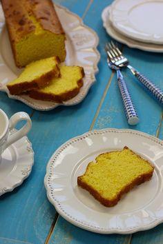 Cinco Quartos de Laranja: Bolo de farinha de milho com amêndoa e laranja
