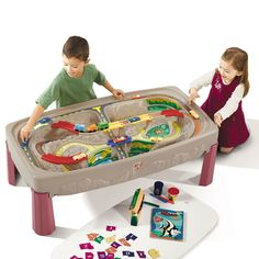 Deluxe Canyon Road Train & Track Table by Step2 is one of most popular Pretend Play products for children. View and shop now