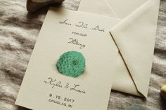 Succulent Save The Date Wedding DIY or Ship by KayleighDuMond