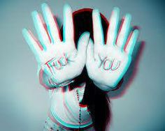 Fuck you ! Rude Finger, I Salute You, Blog Fotografia, If Rudyard Kipling, Smart Girls, Girls Hand, Magic Words, Sassy Quotes, Word Of The Day