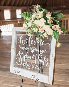 43 Elegant Wedding Welcome Signs You& Love - Page 42 of 43 - . 43 Elegant Wedding Welcome Signs You& Love – Page 42 of 43 – Wedding Mirror, Wedding Frames, Wedding Table, Romantic Weddings, Elegant Wedding, Rustic Wedding, Floral Wedding, Trendy Wedding, Signs For Weddings