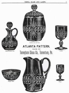 Tarentum Glass Co, 1893-1918, history & advertisements