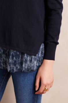 Skirted Saira Pullover by Seen Worn Kept | Pinned by topista.com