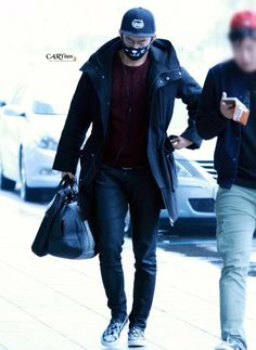20141106 Taecyeon @ Gimpo Airport (To Japan)