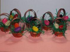 Easter basket peanut butter cups