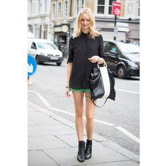 ロックにシックに、マニッシュに。ロンドンガールズの黒の着こなしを大調査。 ファッション(流行・モード) VOGUE JAPAN