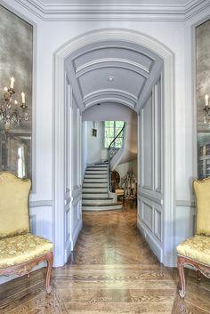 Paneled doorway