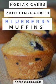 This protein muffin recipe is low-fat high-protein and full of healthy complex carbs! They're macro counting and meal prep friendly and all the macros can be found in the recipe post! High Protein Muffins, Low Carb High Protein, Blueberry Protein Muffins, High Protein Breakfast, Healthy Muffins, Blue Berry Muffins, Low Fat Muffins, Protein Powder Muffins, High Protein Meal Prep