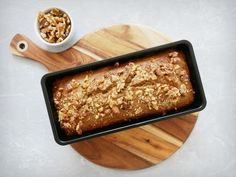 An all time favourite with healthy and wholesome ingredients. Vegan, gluten and sugar free. Join the Eat Yourself Green community. Buckwheat Bread, Flours Banana Bread, Buckwheat Recipes, Gluten Free Banana Bread, Vegan Banana Bread, Easy Banana Bread, Gluten Free Baking, Vegan Baking, Healthy Baking