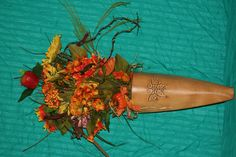 Fall hanging arrangement selling for $50.00