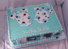 Baby Shower Sheet Cakes | Cake For A Twin Baby Shower !!!