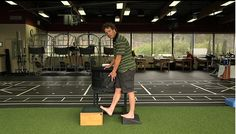 A good look at lower leg function and how to best strengthen it.