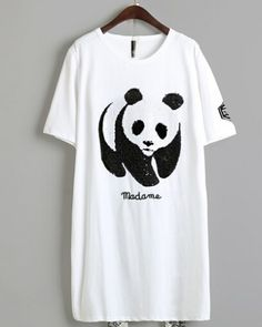 Teenagers Teen Boy Kawaii Lazy Sloth and Panda Printed Long Sleeve 100/% Cotton T Shirts