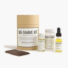J.Crew Gift Guide: men's Prospector Co.™ for J.Crew beard kit.