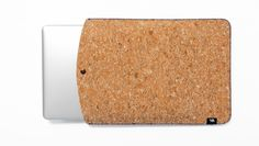 Cork Laptop Sleeve  A light and durable sleeve, perfect for your laptop. For 13'' and 15'' Laptops.