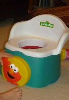 Pinner said-POTTY TRAINING- MY ADVICE AFTER WORKING 7YRS AT A DAYCARE IN A POTTY TRAINING ROOM  I potty trained in the 2s room for 2 years (32  kids), and then in the 3s room for 5 more years (60  kids). I've read a lot, and I've pulled my favorite theories, tricks and styles. Here are the things that I think are essential.