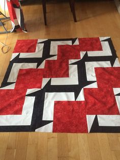 BQ5 Quilt Big Block Quilts, Quilt Blocks, Quilting, Contemporary, Patterns, Rugs, Sewing, Ideas, Home Decor