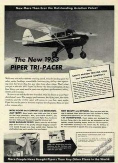 """Affectionately known as the """"flying milkstool"""", the Tri-Pacer is my favorite all-time """"nosedragger."""""""