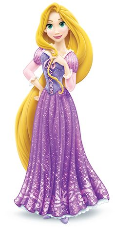 Rapunzel- one of the few princesses with a redesign that isn't completely unfortunate.