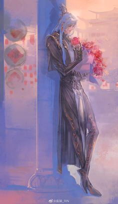 Peach Blossoms, My Crazy, Chinese Art, Vocaloid, Mythology, Mystic, Game Of Thrones Characters, Mermaid, Fairy