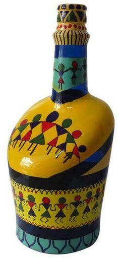 Warli on bottle