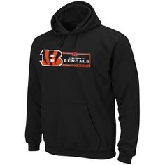 Cincinnati Bengals Majestic Critical Victory VII Pullover Hoodie - Black - $54.99