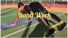 At home workouts with resistance bands. Exercises for beginners using resistance bands. Exercise at home for women. Booty burn at home. building for beginners building men muscle pack abs men pack boys pack workout exercises Fitness Workouts, At Home Workouts, Fitness Tips, Fitness Journal, Fitness Memes, Exercise At Home, Inner Leg Workouts, Home Workout Videos, Video Fitness