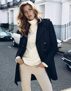 H Fall 2013: Gisele Bündchen photographed by Lachlan Bailey. Photo courtesy of H