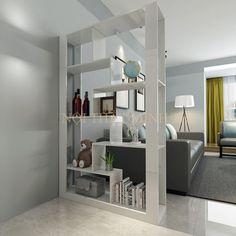 21 Stunning Bookshelves You'll Want For Your Home Home, Bookshelf Design, House Design, Living Room Designs, Interior, Room Partition Designs, Living Room Partition Design, House Interior, Home Deco