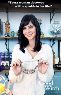 The Good Witch - Catherine Bell Hallmark Channel, Hallmark Good Witch, Witch Tv Shows, The Good Witch Series, Witch Outfit, Witch Dress, Catherine Bell, Tv Show Casting, Witch Decor
