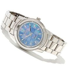 618-996 - Invicta Women's Angel Quartz Mother-of-Pearl Stainless Steel Bracelet Watch