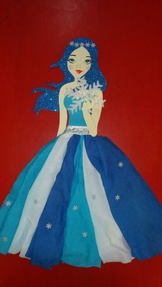 Winter fairy - Home Page Kindergarten Crafts, Preschool Crafts, Weaving For Kids, Winter Fairy, Cute Fish, Fairy Crafts, Fairy Princesses, School Decorations, Crafts For Girls